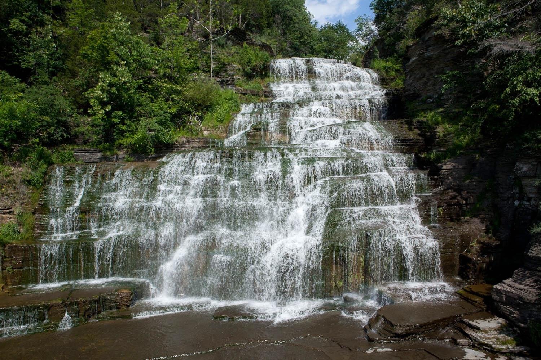 Hector Falls, Burdett, New York, United States of America