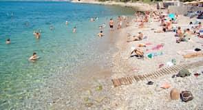 Arvanitia-stranden