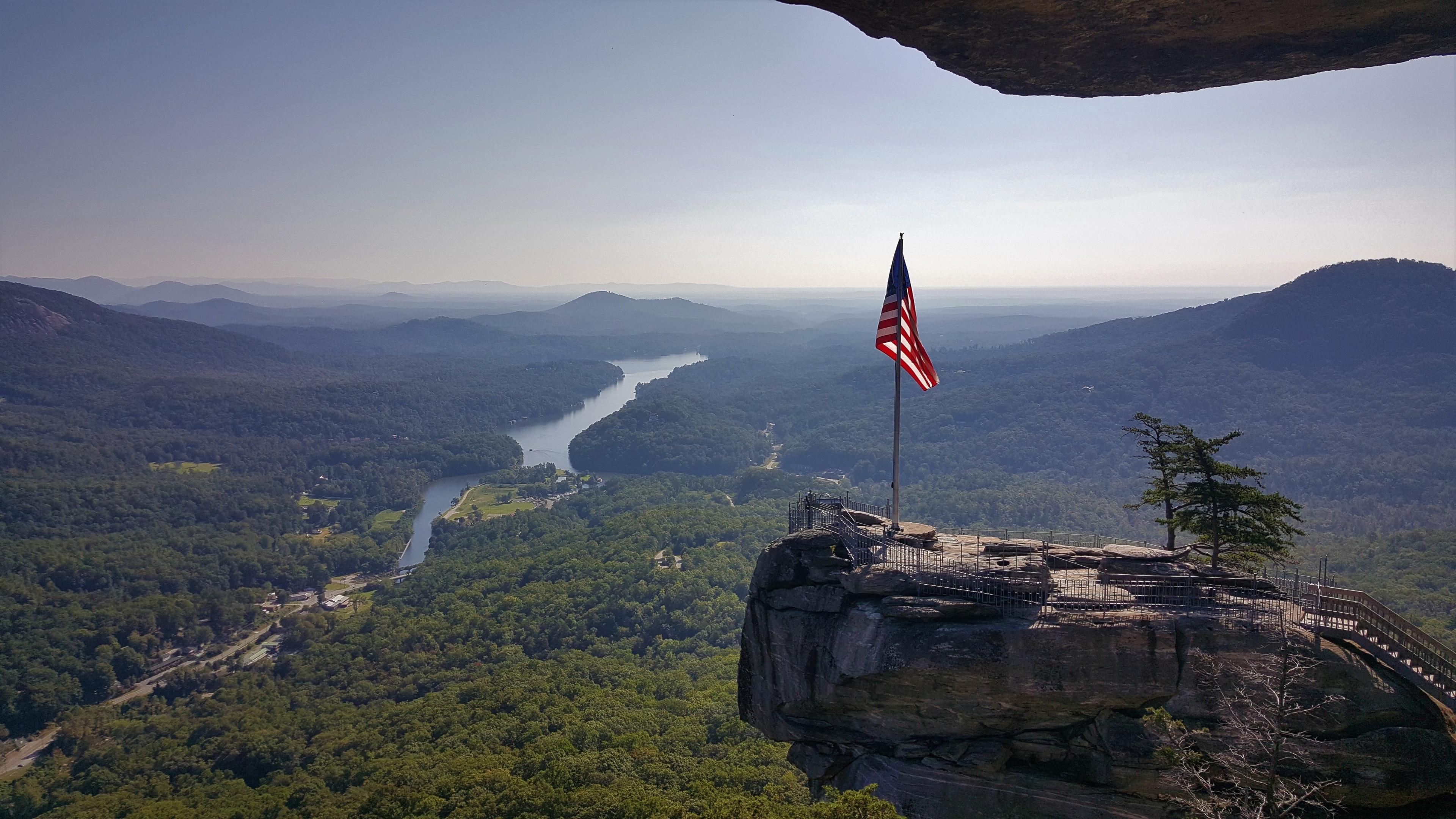 Chimney Rock State Park, North Carolina, USA