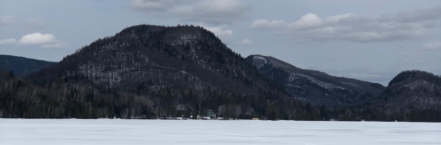 Lac Superieur Köyü, Quebec, Kanada