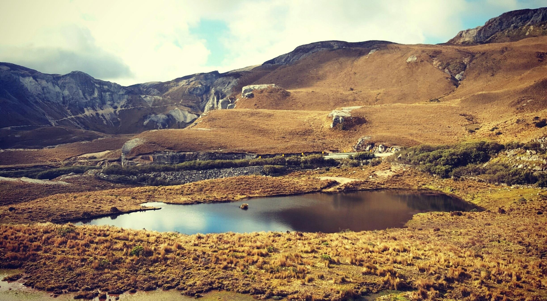 El Cajas National Park, Cuenca, Azuay, Ecuador