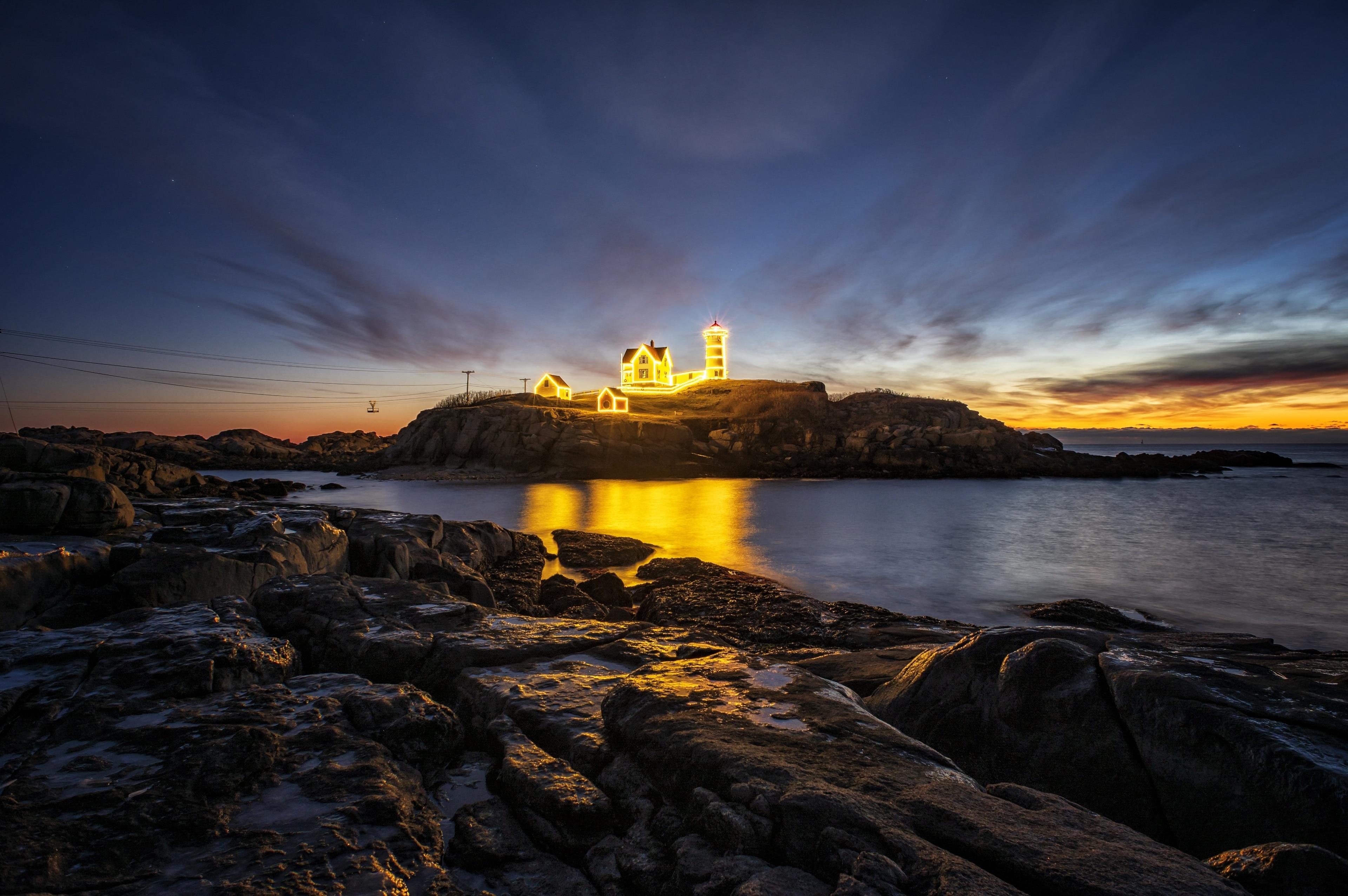 Nubble Lighthouse, York Beach, Maine, United States of America