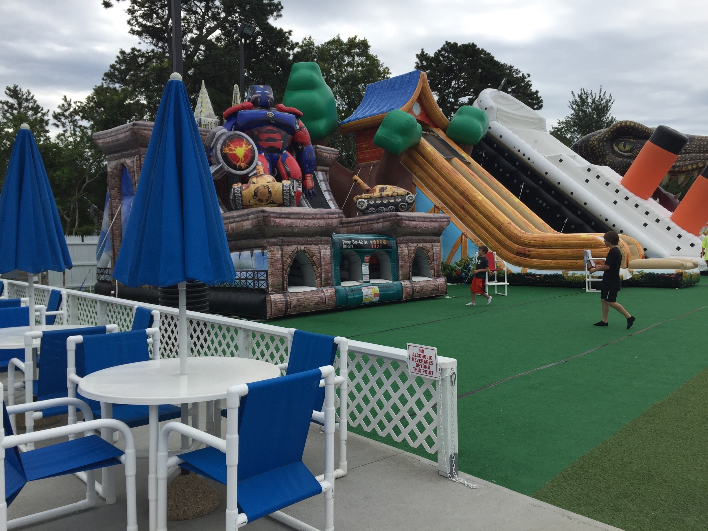 Cape Cod Inflatable Park, West Yarmouth, Massachusetts, Verenigde Staten