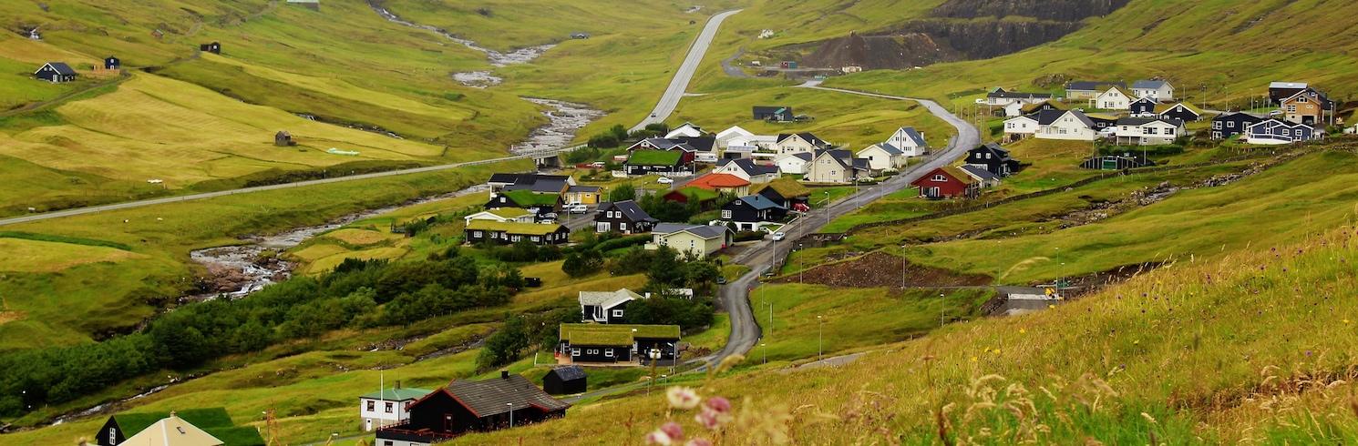 Sandavágur, Faeröer