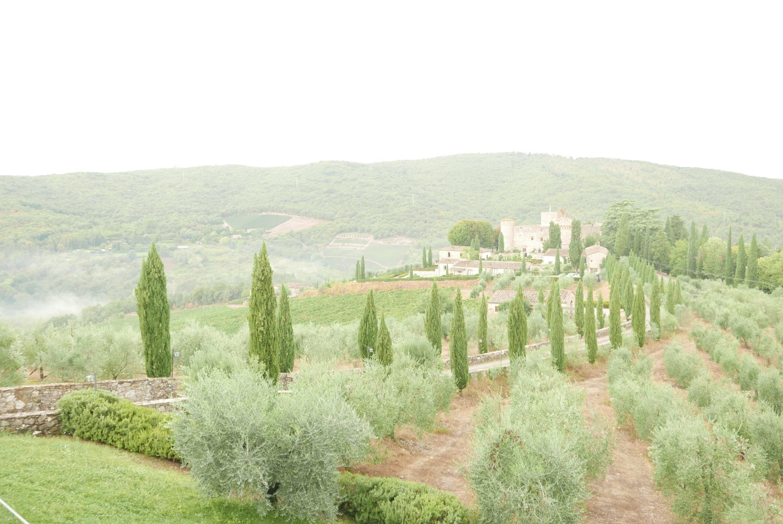Castello di Meleto (Burg), Gaiole in Chianti, Toskana, Italien