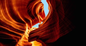 Каньон Upper Antelope Canyon