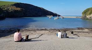 Pantai Port Isaac