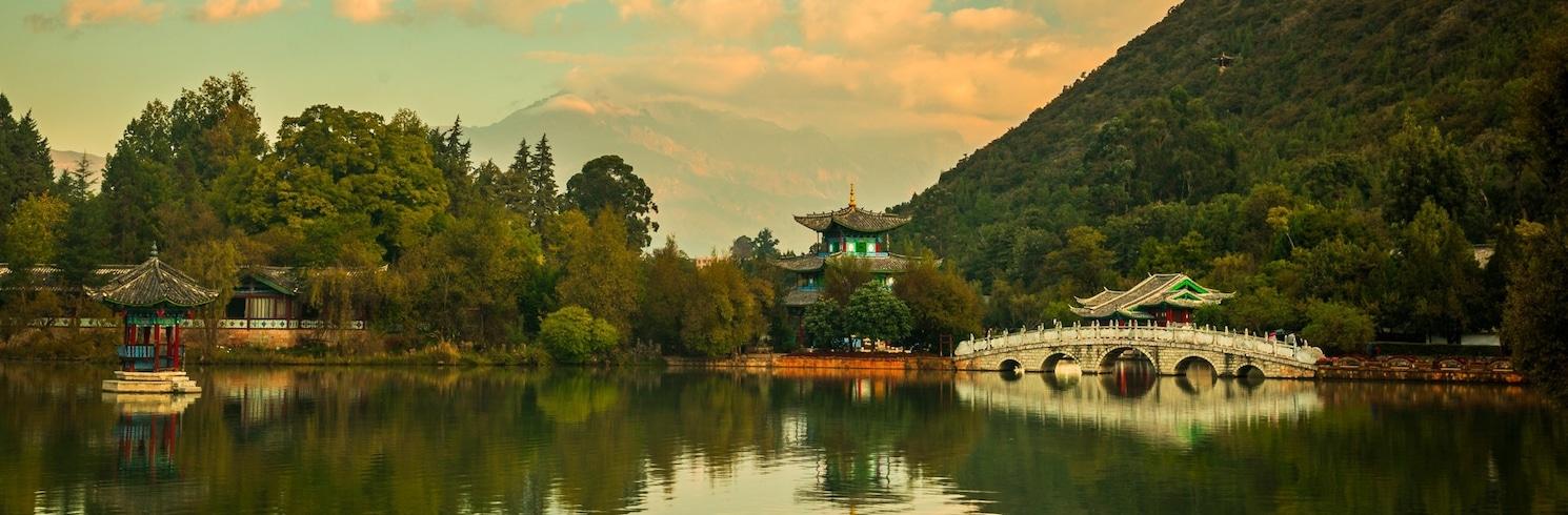 麗江, 中國