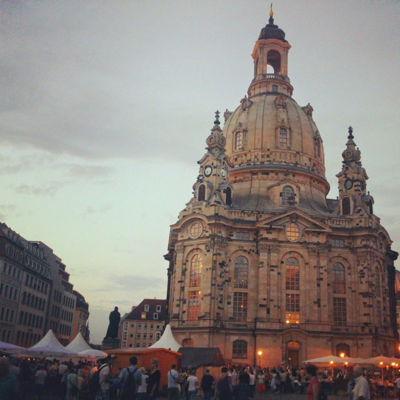 Altmarkt, Dresden, Sachsen, Deutschland