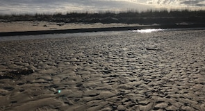 Dornoch tengerpart