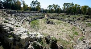 シラクサのローマ円形劇場
