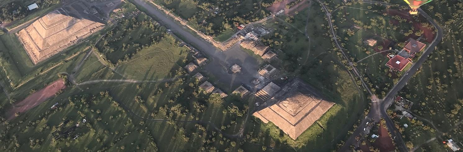 San Martin de las Pirámides, México