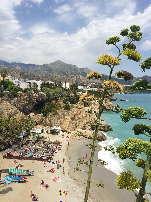 Strand von Calahonda, Motril, Andalusien, Spanien