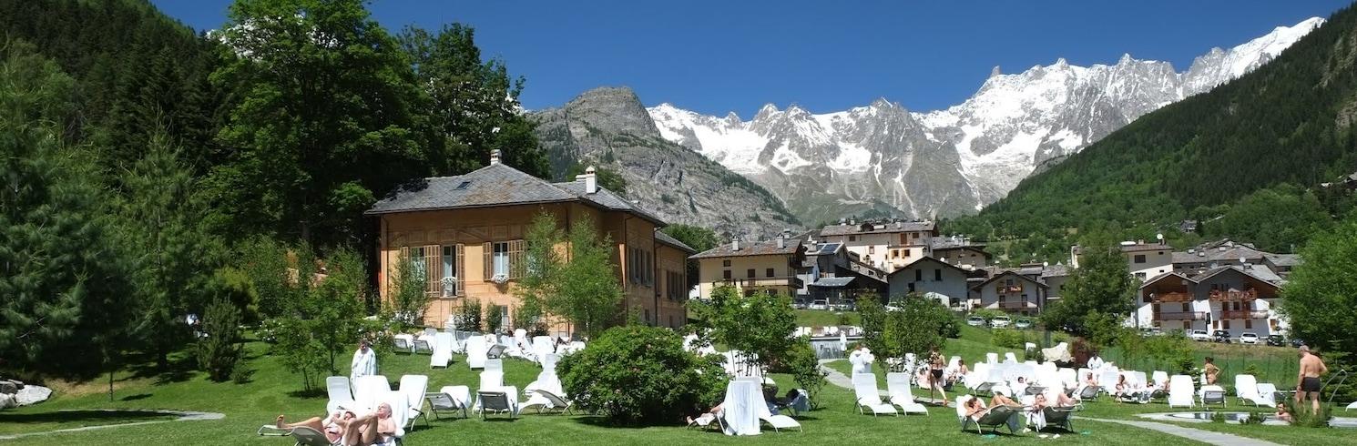 Pré-Saint-Didier, Taliansko