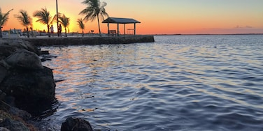 Kings Kamp has been our go to RV park in Key Largo for over 3 winters in a row. No frills or luxuries, only by the water as every RV place in the Keys is increasing in price, and so is Kings Kamp, but still ok relative to the new ones! #rvpark #floridakeys #sunset #waterfront #rvlife #fulltimervers