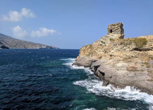 Andros-Stad, Griekenland