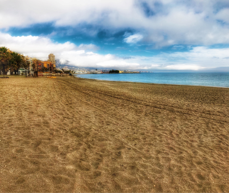 Playa de Santa Amalia, Fuengirola, Andalusia, Spain