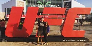UFC212 / Jeunesse Arena in Rio de Janeiro