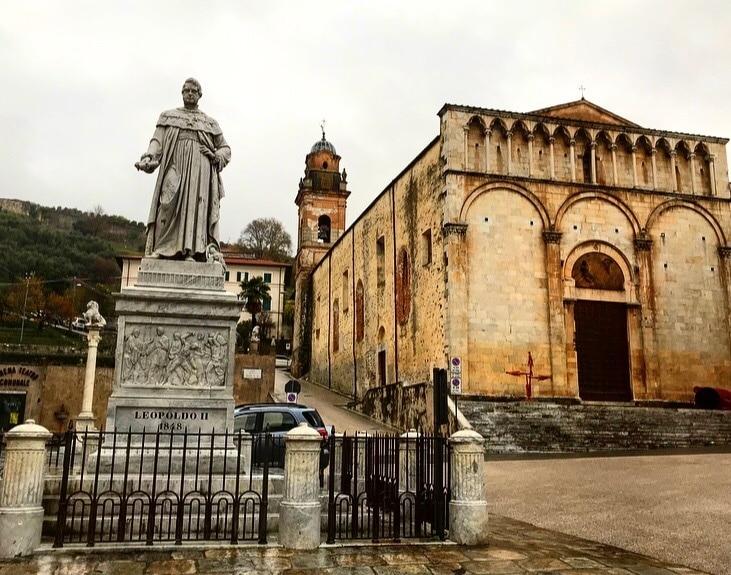Kathedraal van Pietrasanta, Pietrasanta, Toscane, Italië