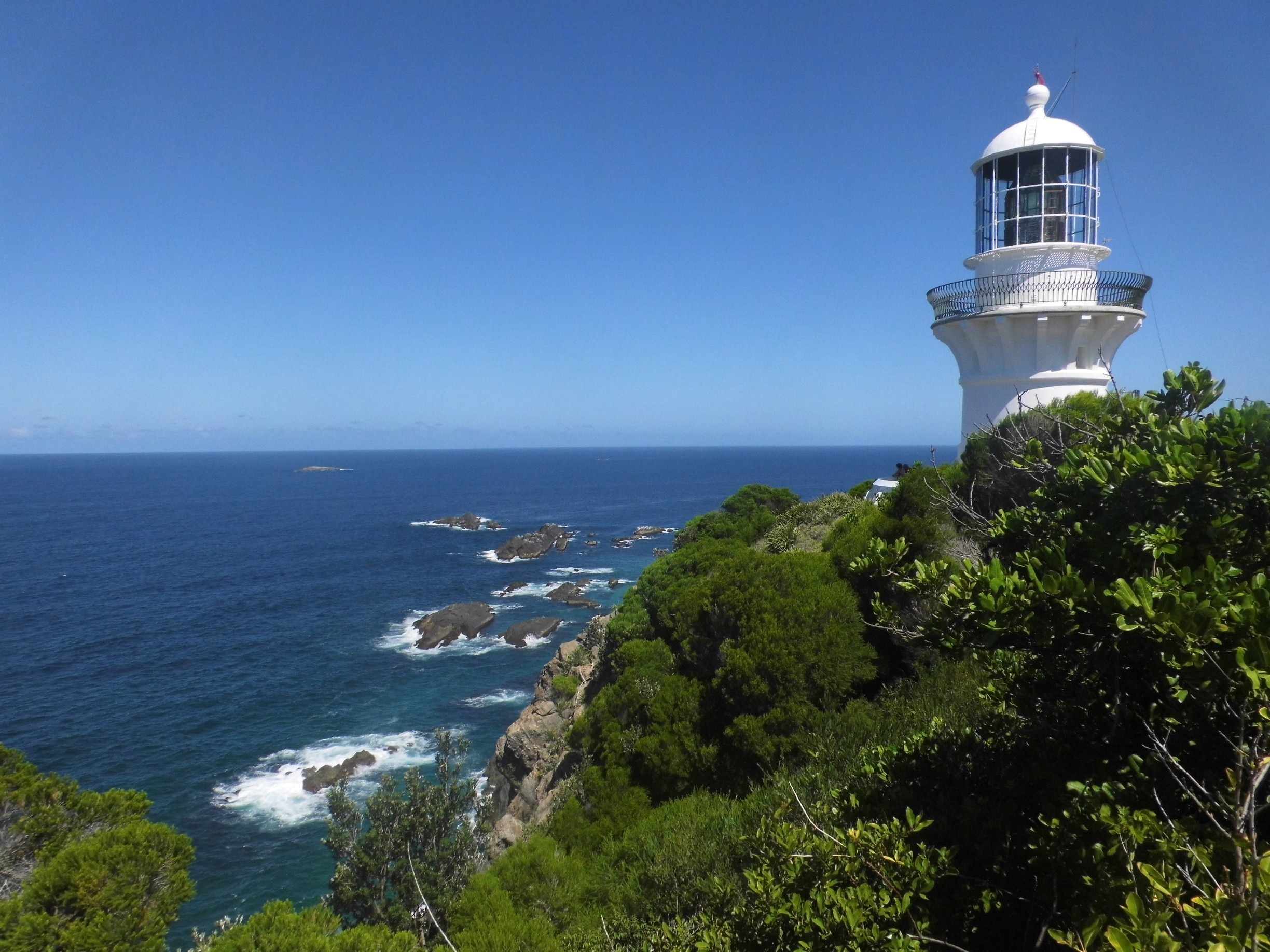 Sugarloaf Point Lighthouse, Seal Rocks, New South Wales, Australië
