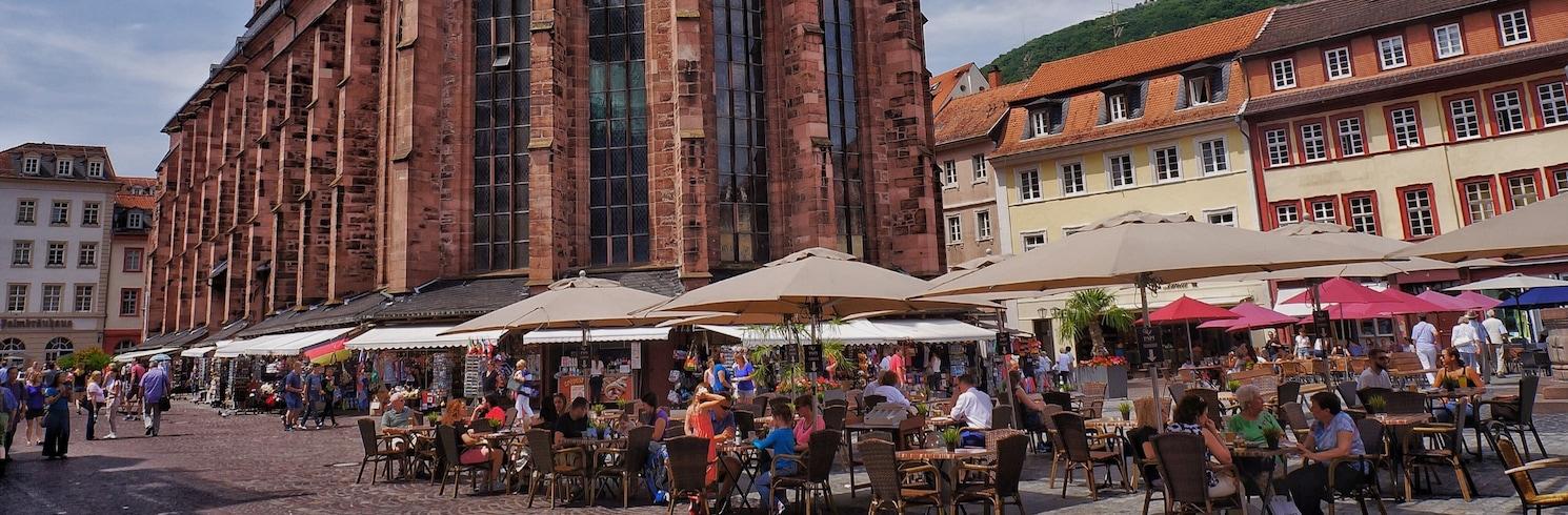 Miðbær Heidelberg, Þýskaland