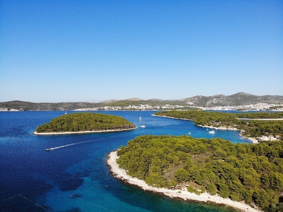 Jerolim Island, Split-Dalmatia, Croatia