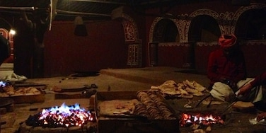 Kitchen at choki dhani!