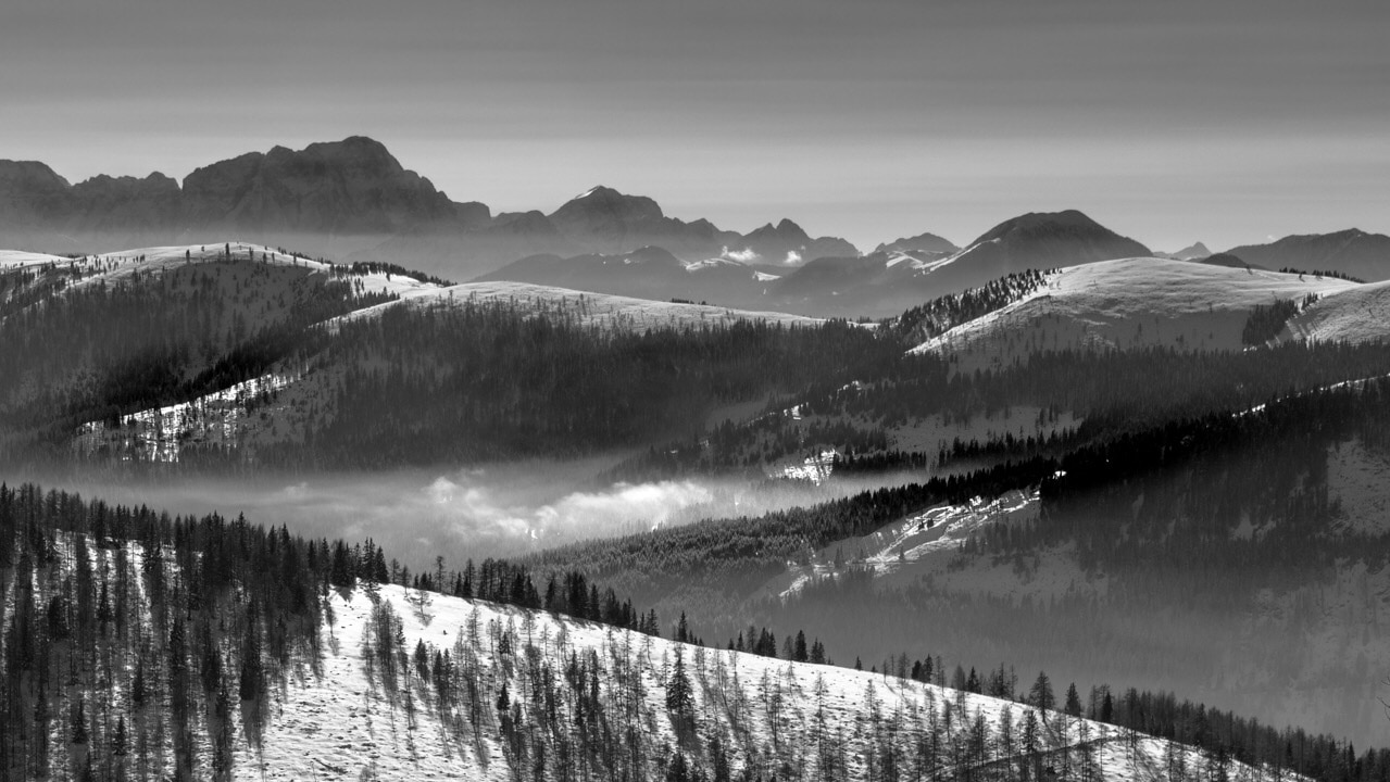 Bad Kleinkirchheim – Skigebiet St. Oswald, Bad Kleinkirchheim, Kärnten, Österreich