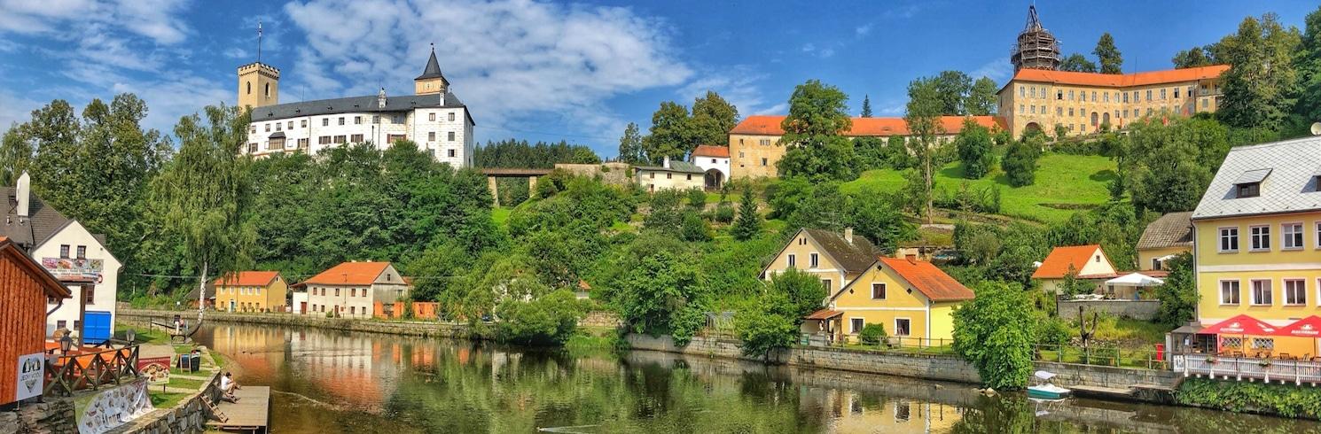 Rozmberk nad Vltavou, Tšehhi Vabariik