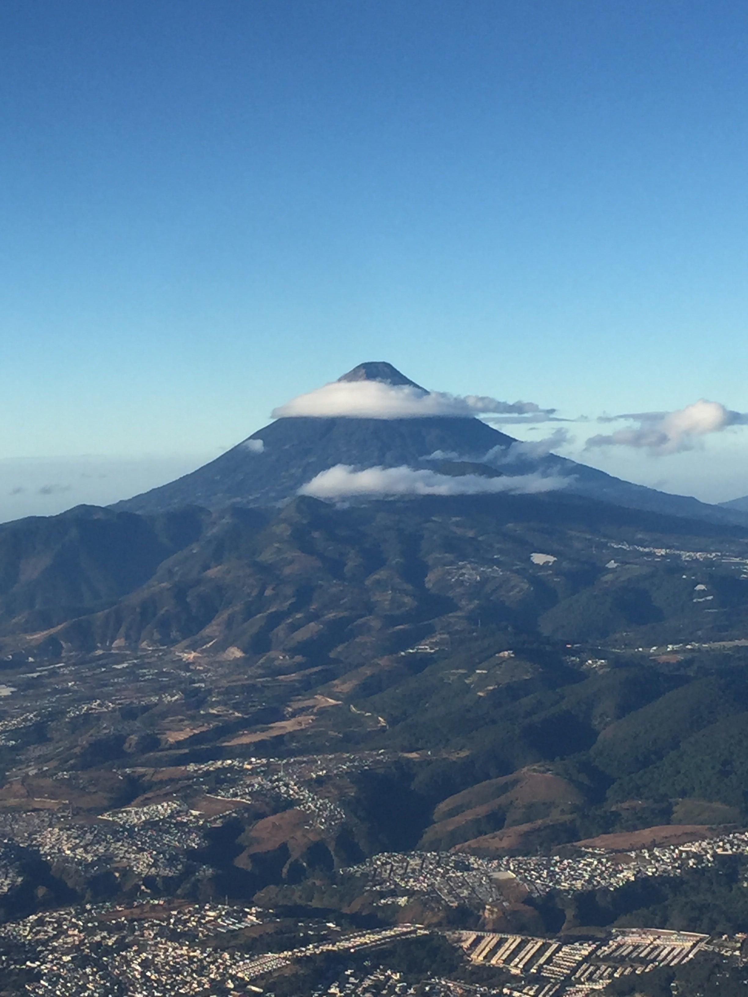 Volcan de Agua, Ciudad Vieja, Sacatepéquez, Guatemala