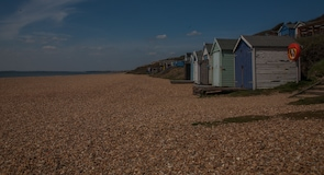 Pláž Milford on Sea