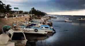 Campeche strandpromenade