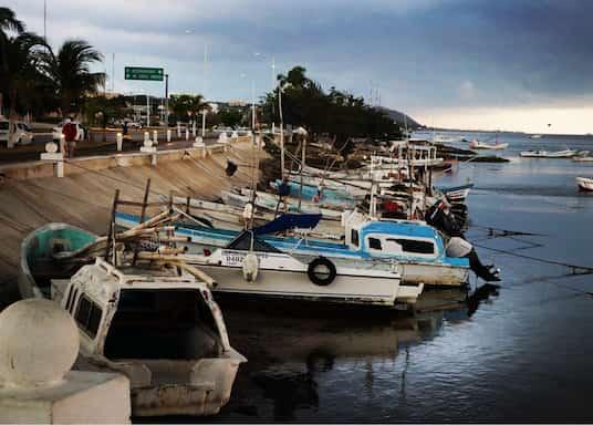 Набережная Кампече, Мексика