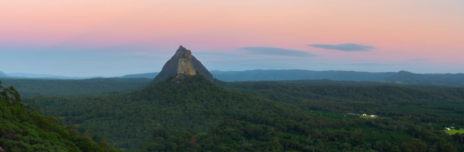 Glass House Mountains, Queensland, Avustralya