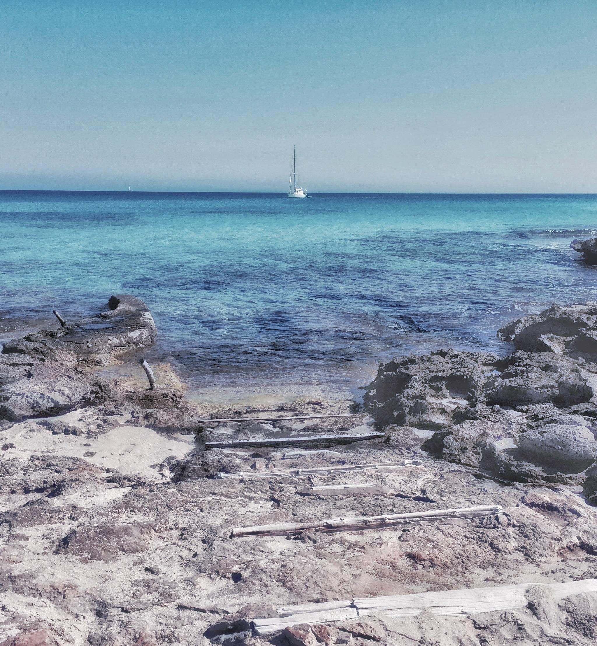 Es Caló, Formentera, Balearen, Spanien