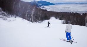 Лыжный курорт на горном массиве Шарлевуа