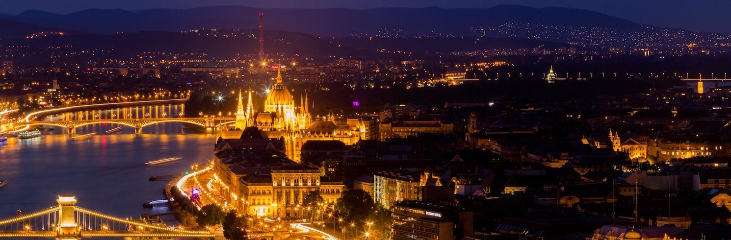 Centro de la ciudad de Budapest, Hungría