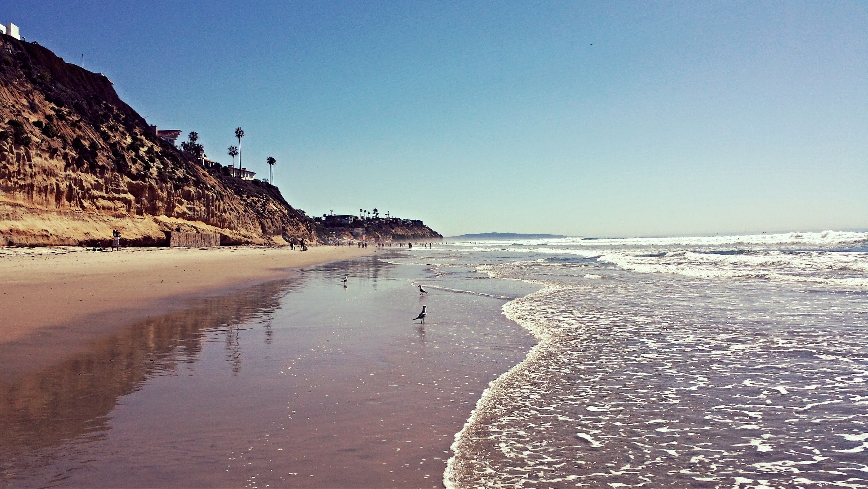 Moonlight State Beach, Encinitas, California, United States of America