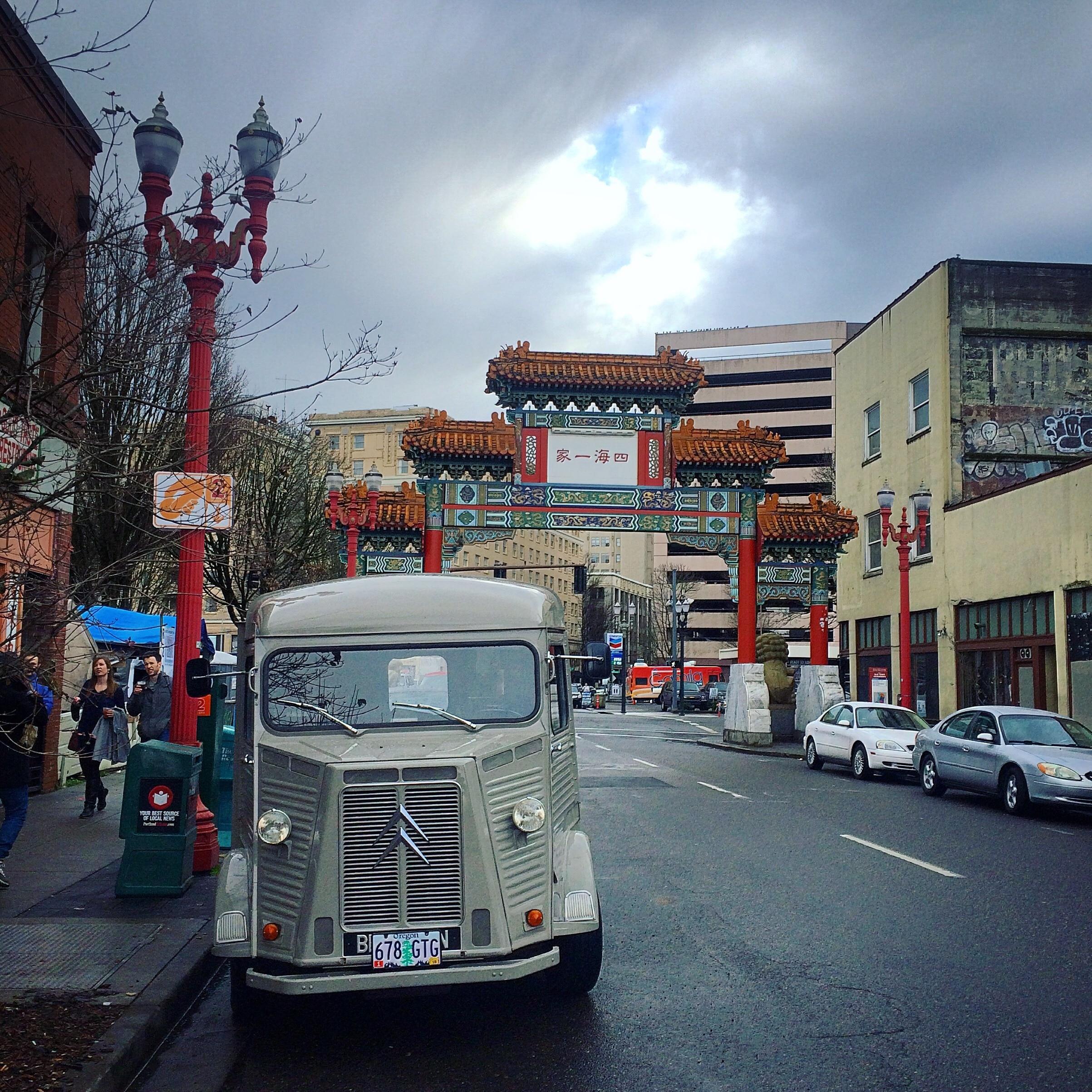 Chinatown Gate, Portland, Oregon, USA