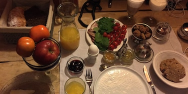Incredible Russian breakfast with organic produce at this divine boutique hotel. #OrbitzTravel