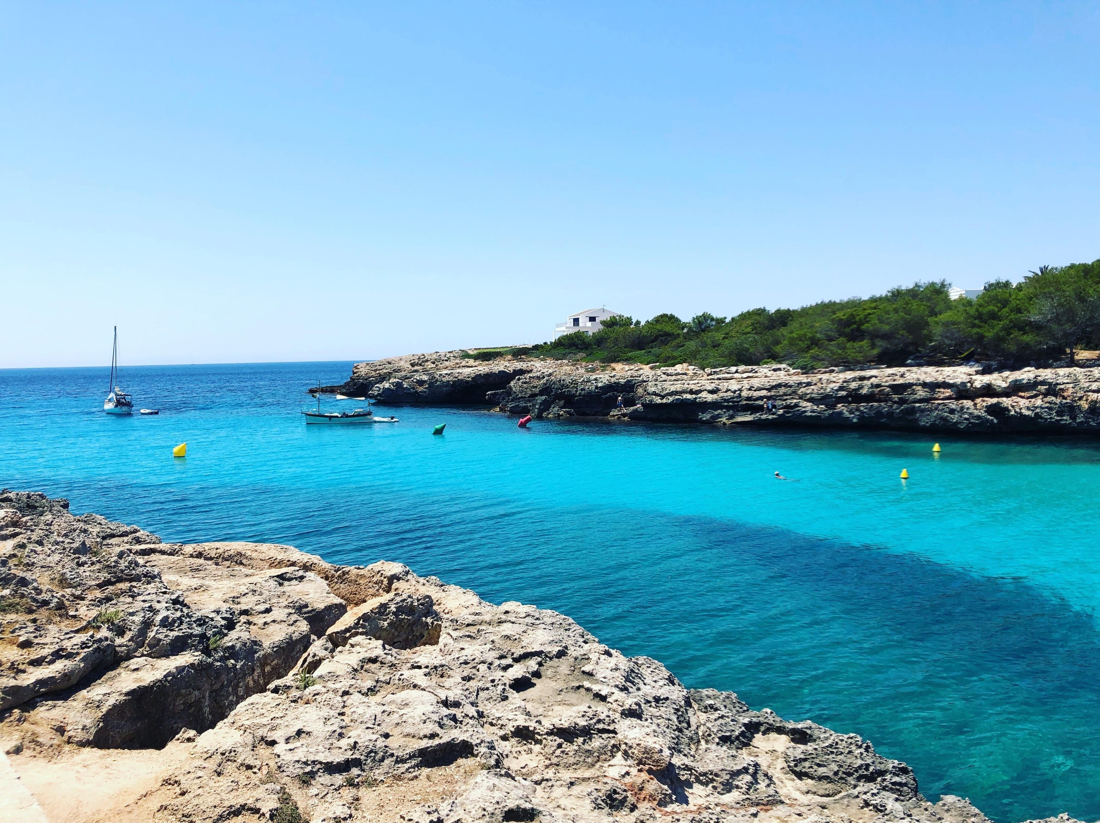 Cala Blanca, Ciutadella de Menorca, Balearic Islands, Spain