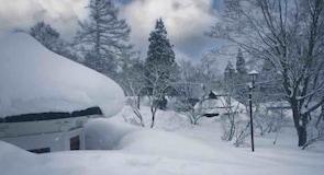 Лыжный курорт Akakura Onsen