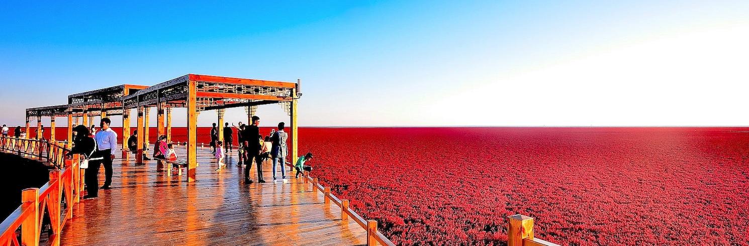 盤錦, 中國