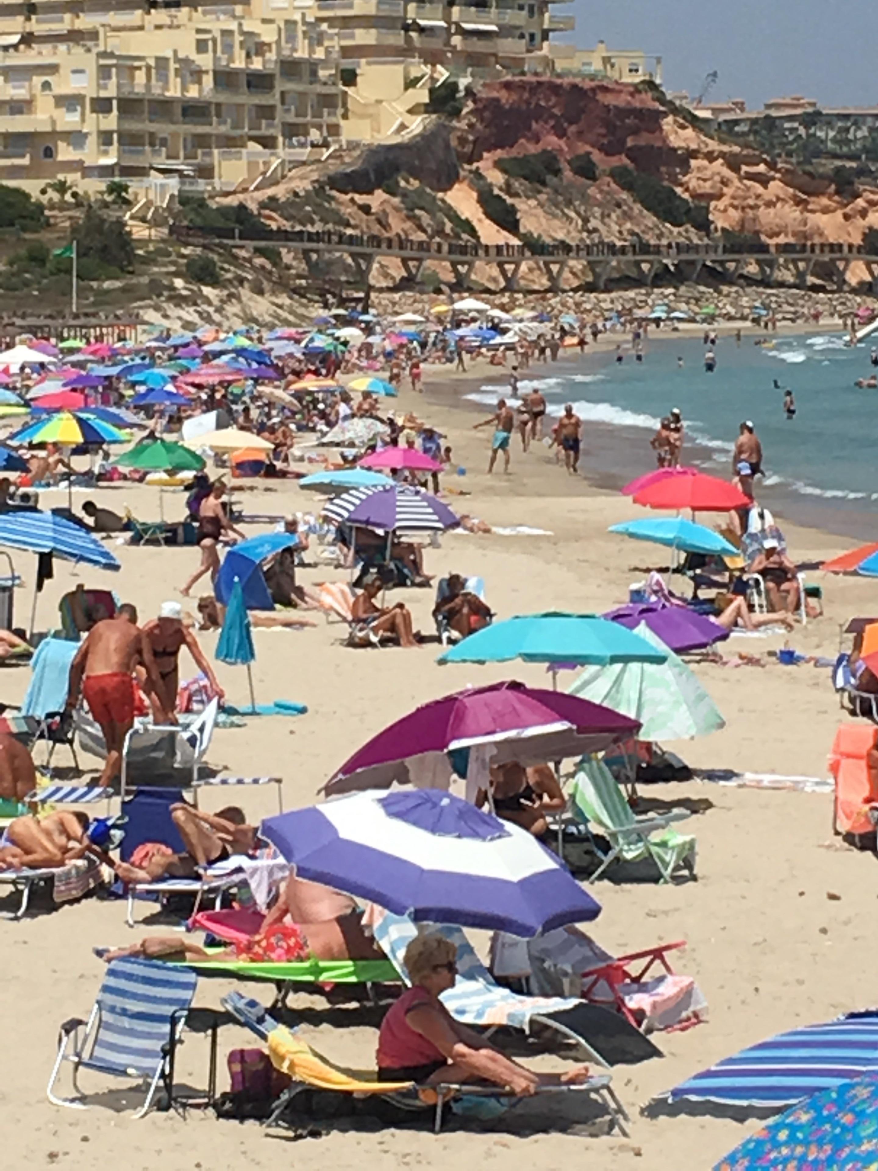 Playa de Campoamor - La Glea, Orihuela, Valencian Community, Spain