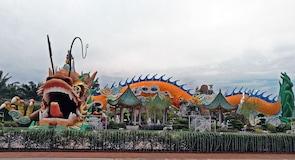 Kip zmaja prosperiteta Naga Kemakmuran u Yong Pengu u Johoru