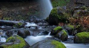น้ำตก Horsetail