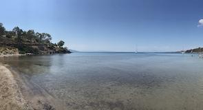 Aeginitissa Beach