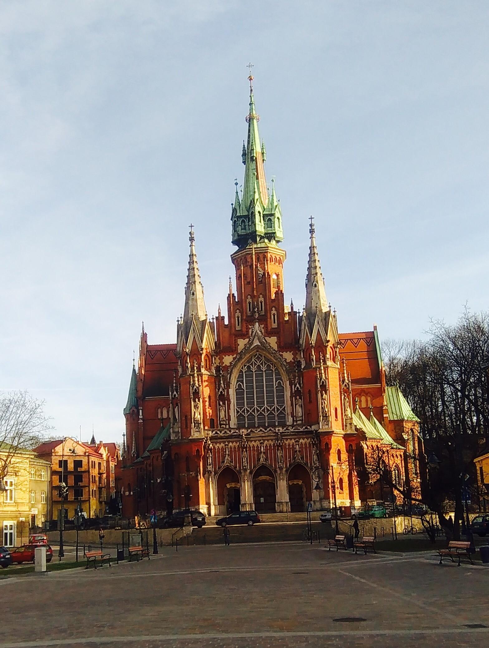 St. Joseph's Church, Krakow, Lesser Poland Voivodeship, Poland