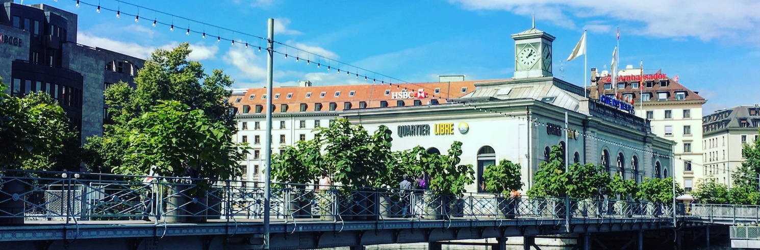 Centro de la ciudad de Ginebra, Suiza