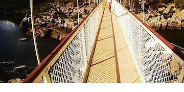 The Cataract Gorge is in Launceston, Tasmania, Australia.